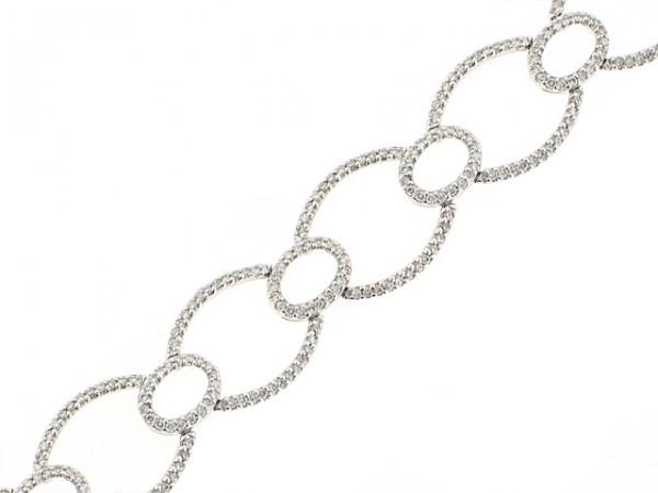 14K Ovallia Diamond Bracelet