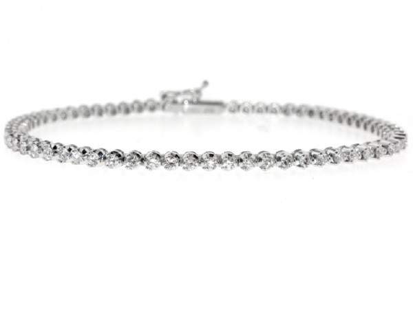 1.87ct Diamond Tennis Bracelet
