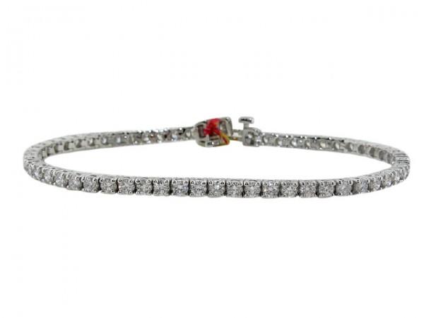 3.71ct Diamond Tennis Bracelet