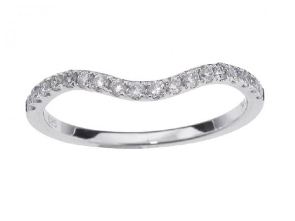 0.25ct Diamond Wedding Band