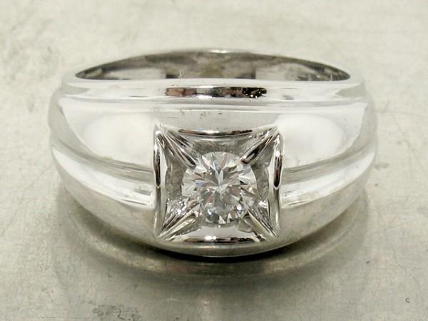 0.44ct Retro Solitaire Ring for Men