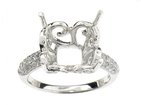 .73ct Diamond Semi-Mount Ring