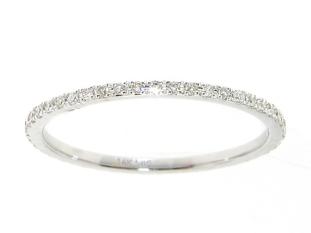 eternity diamond artemer tiny ring half micro pave band products