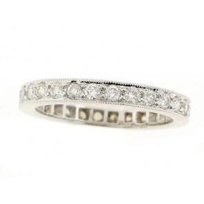 18K Diamond Eternity Ring, 0.92ct