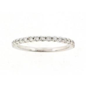 18K Diamond Anniversary/Wedding Band - 0.28ct
