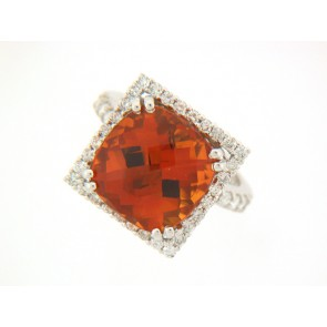 18KW 8.48CT/CITRINE 1.15RD 322809