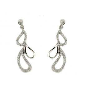 18K Diamond Fashion Earrings, 0.50ct