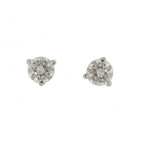 0.44CT Diamond Stud Earrings