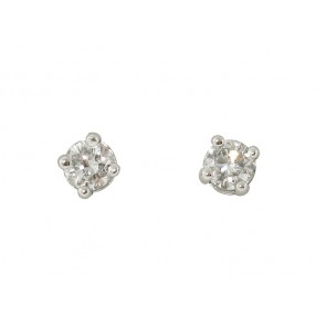 0.14CT Diamond Stud Earrings
