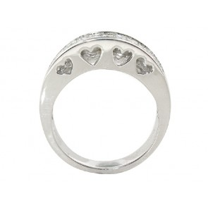 1.05ct Invisible Set Diamond Band