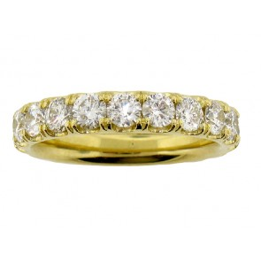 1.74ct Couture Diamond Eternity Band