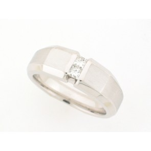 14K Mens Diamond Band