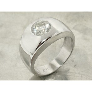 1.53ct Diamond Solitaire Ring for Men