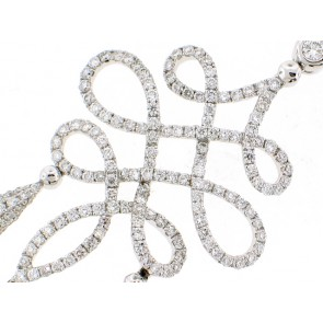 18K Exquisite Diamond Necklace