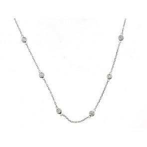14K Diamond Chain Necklace