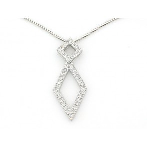 14K Diamond Fashion Pendant