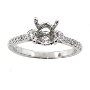 0.28ct Diamond Engagement Ring