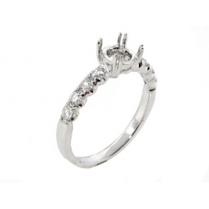 0.42ct Diamond Engagement Ring