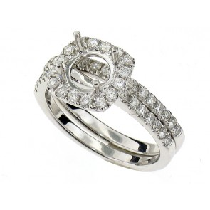 0.65ct Diamond Engagement Ring