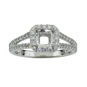 0.47ct Diamond Engagement Ring