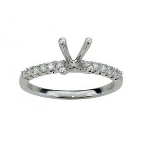 0.23ct Diamond Engagement Ring